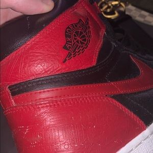 AIR JORDAN 1 LASER BRED CUSTOM